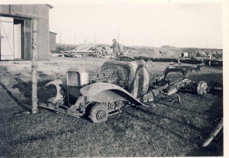 Naturgas i Strandby 1938-1945
